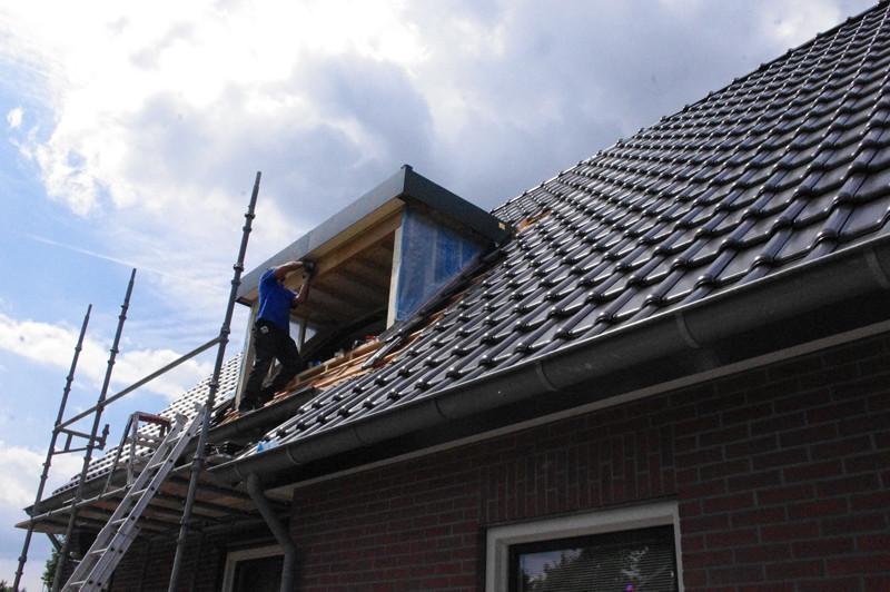 Plaatsing dakkapel